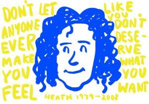 illustration of heath ledger